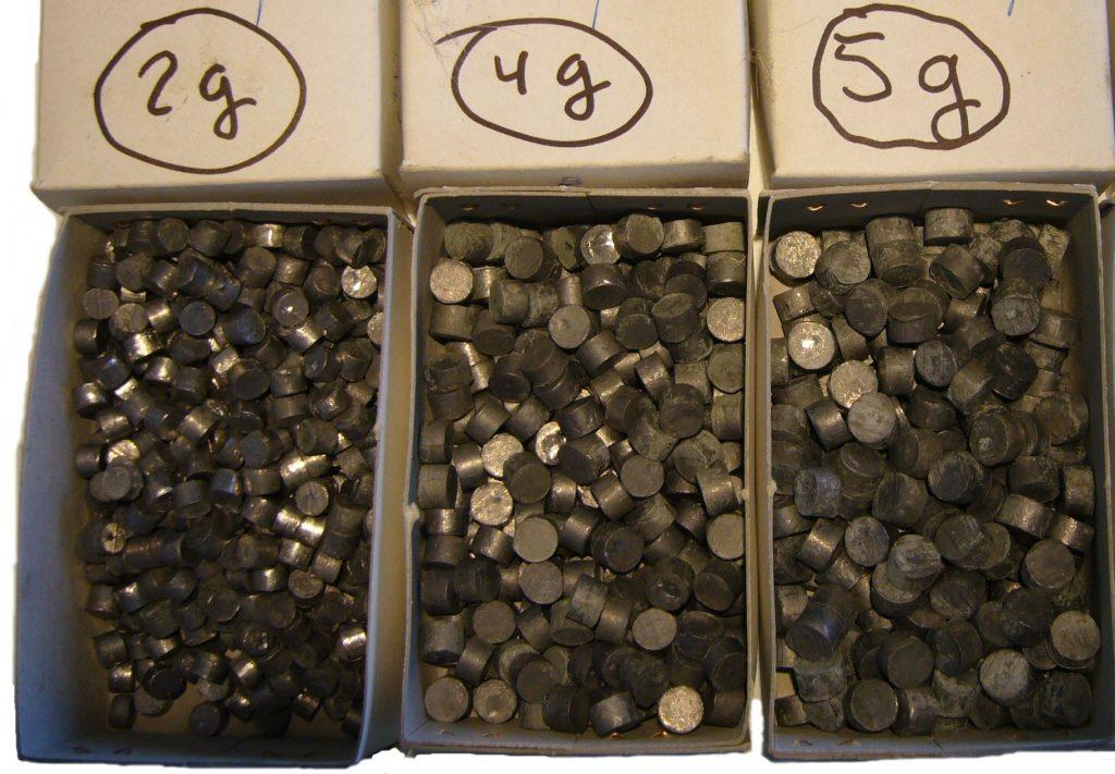 Assay grade lead tablets