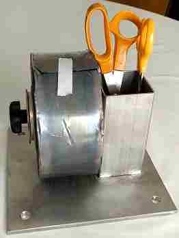 Lead foil roll holder
