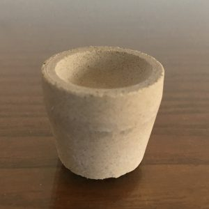 Mabor Magnesia Cupels size 3 – 26,3mm – immediate supply