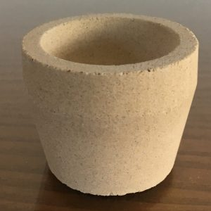 Mabor Magnesia Cupels size 8S – 44mm – immediate supply