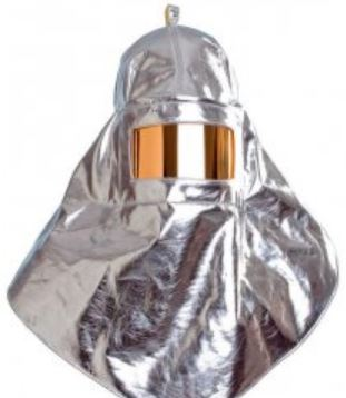 Aluminized Safety Hood