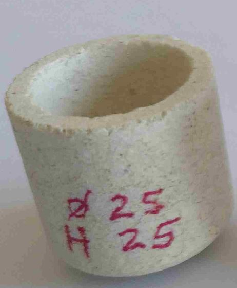 Gold annealing crucibles 25×25 supply