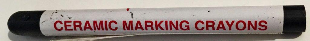 Fire Assay Ceramic Marking Crayon 1200ºC