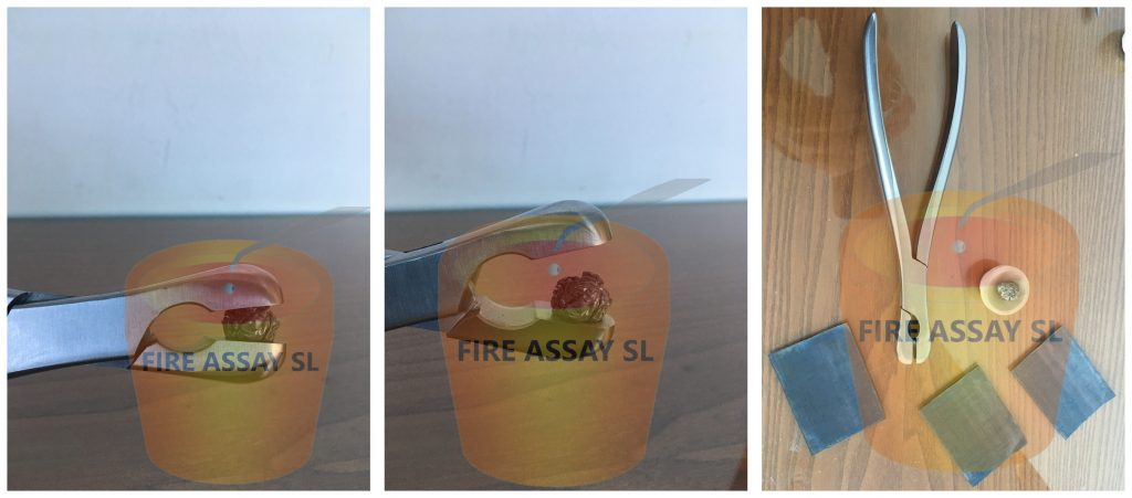 Assay Lead foil packing Pliers